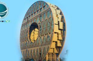دایره کانجوی چین ،مرکز تجارت جهانی مواد پلاستیکی خام ،ساختمان دایره ای گوانجو ،تالار بورس گوانگ دانگ ،مشخصات ساختمان دایره ای گوانجو ،دایره کانجو درگوانجو ،عجیب ترین سازه های چین ،سازه های عجیب چین ،معماری دایره کانجو چین ،سفر به چین ،مناطق دیدنی چین ،جاذبه های گردشگری چین ،مناطق گردشگری چین ،آشنایی با چین ،آشنایی با شهرهای چین ،ساختمان های چین ،بزرگترین مرکز تجارت جهانی مواد پلاستیک خام ،جالب ترین ساختمان های جهان ،