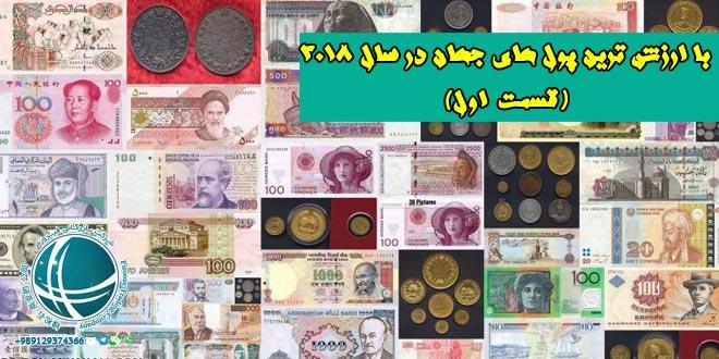 معتبرترین واحدهای پولی جهان در سال 2018،با ارزشترین پول های جهان در سال 2018، باارزش ترین ارزهای جهان در سال 2018، معتبرترین ارزهای جهان در سال 2018، ارزهای برتر، باارزش ترین واحدهای پولی، خرید کالا با ارز، خرید کالا با ارز دولتی، نرخ صادرات نسبت به واردات در ایران، قیمت کالاهای وارداتی، ارزش پول داخلی کشور،خرید خارجی، صادرات کالا ، واردات کالا از چین