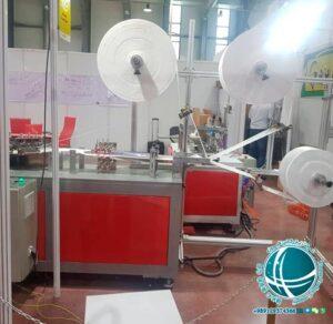 دستگاه تولید پارچه ماسک