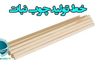 خط تولید چوب نبات