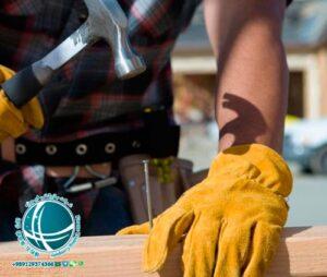خط تولید دستکش کارگاهی